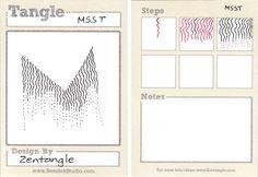 Msst ~ a Zentangle Tangle Doodle, Tangle Art, Zen Doodle, Doodle Art, Zentangle Drawings, Doodles Zentangles, Doodle Drawings, Pencil Drawings, Doodle Patterns