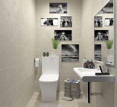 Propuesta para uno de los 4 baños de los adosados Senda de l'Aire (Alboraya, Valencia). En este caso se trata de un aseo. Valencia, Toilet, Bathroom, Proposal, Space, Black And White, Kitchens, Washroom, Litter Box
