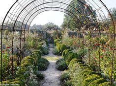 Le Jardin Plume, qu'est ce que c'est ? - voûte en fer à béton