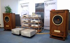 The magical sounding TANNOY Canterbury GR speakers driven by ESOTERIC electronics