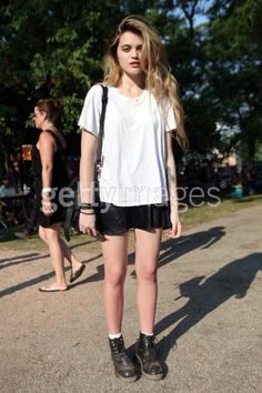 News Photo: Sky Ferreira attends the 2011 Pitchfork Music Festival…