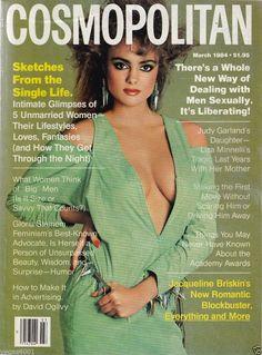 Cosmopolitan magazine, MARCH 1984 Model: Michelle Johnson Photographer: Francesco Scavullo