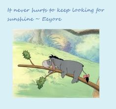 Eeyore from Winnie the Pooh by A. A. Milne