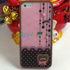 Romance style protective case cover for Apple iPhone 5