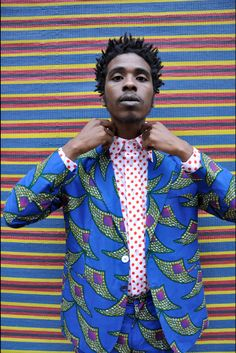 Hassan Hajjaj prints in mens fashion