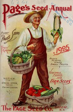 The Page Seed Co. - Page's seed annual 1905 : vegetable, flower and farm seeds