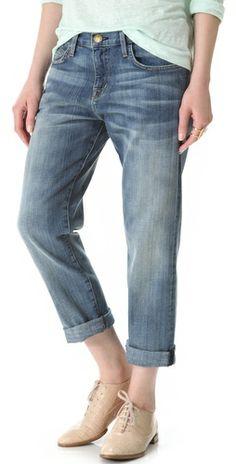 Current/Elliott The Boyfriend Jeans | SHOPBOP