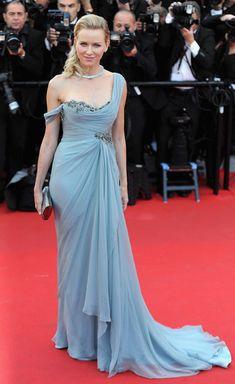 Cannes 2014 - Naomi Watts in a blue Marchesa dress. Source: handbag.com