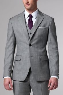 The Essential Gray 3 Piece Suit