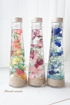 Floating Flowers, Bath Products, Product Packaging, Okinawa, Mason Jars, Diy And Crafts, Aqua, Japan, Homemade