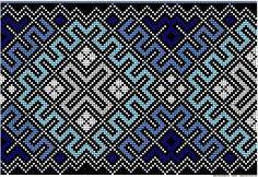 Bunad, Smykker, vev & rosemaling: Bunad Peyote Patterns, Knitting Patterns, Going Out Of Business, Darning, Tole Painting, Brick Stitch, Beautiful Patterns, Needlepoint, Celtic