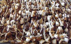 Caramel Chocolate Chex Mix