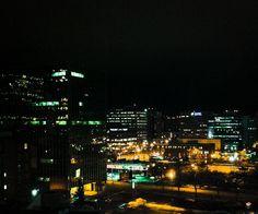 Bright lights, big city. #yeg
