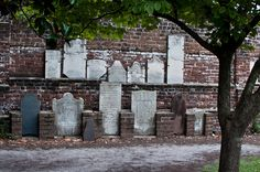 Colonial Park Cemetery where many haunted tours gather in Savannah.