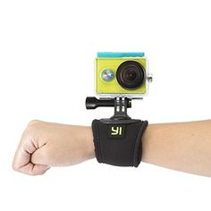 YI Wrist Strap Mount Action Camera Universal Compatible * Click image for more details.