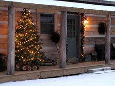 Thirtyeight20: The Old Blog House: Log Home Tour: Mel and Jane Lane