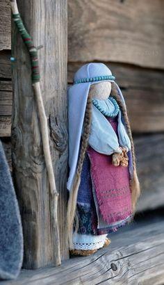 "Кукла-образ ""Ярославна"". Автора можно найти здесь: http://u-lii-tochka.livejournal.com/profile"