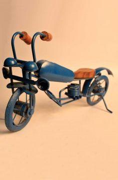 Handcrafted Metal Iron Bike