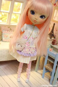 Custom PULLIP doll CHISA CANDY by Nerea Pozo by Keera, via Flickr