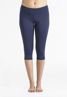 58540edfa8f263 Navy Capri Shop this adorable and comfortable yoga legging! Designed by  Domingo Zapata, with