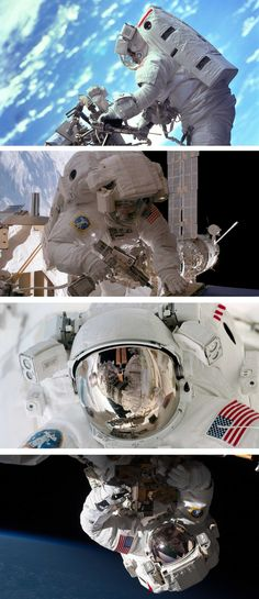 NASA's #RealGravity photo series give a glimpse at what life is really like in space.