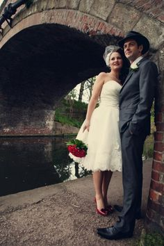 Claire and Jims 1950s American Gangster Themed Wedding by Assassynation...That's the look I want!