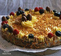 Tarta de limón, crocanti y frutos silvestres | Maite's Sweet Treats