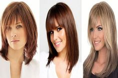 Layered Bangs Hairstyles 2017-2018