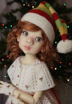 Elves Needed 2014  Doll by Kaye Wiggs