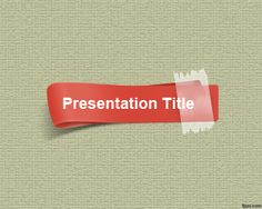 Red Strip PowerPoint Template is this kind of presentation template design that you can use for inspiration but also for real presentation needs