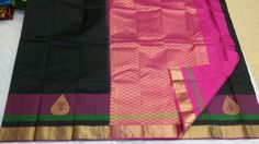 Kanjivaram sari from  our skilled  weavers.