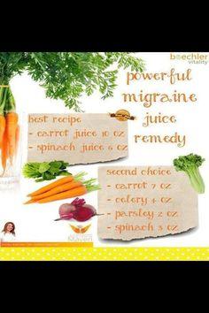 Migraine Juice Remedy