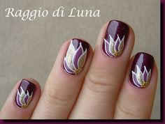Raggio di Luna Nails: Paradise flower