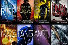 "Maximum Ride series by James Patterson- First three books: ""Oh heck yes. This is the best."" Next three books: ""What the heck are you doing, Patterson?"" Last two books: ""No no no I didn't mean stop like THIS. I Love Books, Great Books, Books To Read, My Books, Maximum Ride, James Patterson, Def Not, Wattpad, Reading Challenge"
