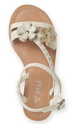 floral kids sandal
