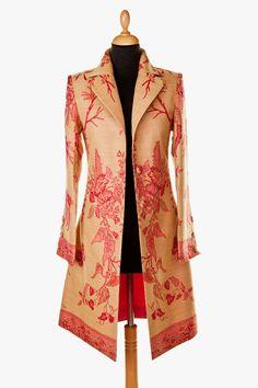 Cashmere Grace Coat in Desert Sand - £295 #cashmere #coat #fashion #women #shibumi