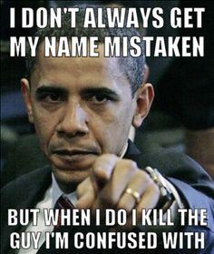 Obama, not Osama!!!