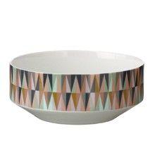 Spear Bowl design by Ferm Living Contemporary Serveware, Contemporary Bowls, Fern Living, Bowl Designs, World Of Interiors, Grafik Design, Vases Decor, Ceramic Bowls, Danish Design
