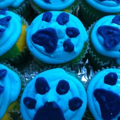 Blues clues cupcakes