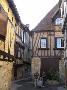 Bergerac. Calle Saint Clar.