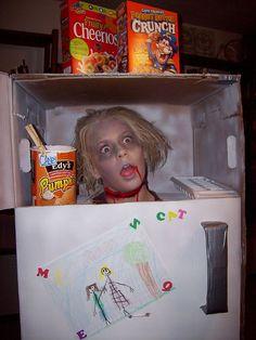 Scary Homemade Halloween Costume