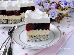 Ala piecze i gotuje Sweet Recipes, Cake Recipes, Dessert Recipes, Polish Recipes, Food Cakes, No Bake Cake, Vanilla Cake, Cheesecake, Cherry
