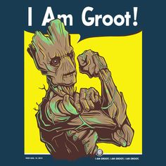 I am Groot! by LuluDubYou.deviantart.com on @DeviantArt