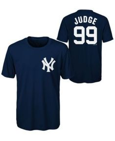 Majestic Aaron Judge New York Yankees Poly Player T-Shirt dd7a76342