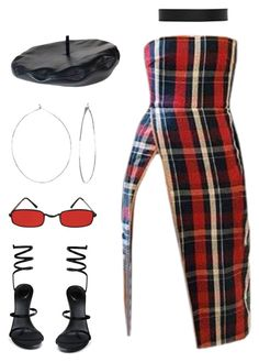 """""""."""" by fauxangel ❤ liked on Polyvore featuring René Caovilla, Phyllis + Rosie and Sophie Buhai"""