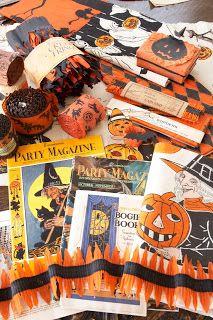 Karin Lidbeck: Crepe Paper Halloween, Back to Basics