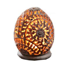 """Red Flower T-Light Holder. : An illuminating beautiful Oval Shaped T-Light Holder  with an ivy design Hand-Carved  in Soapstone.  Product Code TL-04 Size : 3.5"""" Price: £10"""