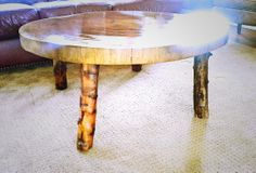 Removed hairpin legs and added branch legs... www,wentzelwooddesigns.com