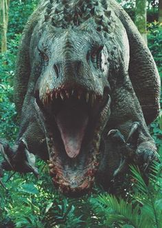 Image of the Day: Jurassic World's Indominus Rex in a post-lunch pose | Blastr
