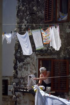 Laundry Art, Laundry Room, Hanging Clothes, Somewhere Over, Life Is Beautiful, Clothes Lines, Sketchbooks, Florence, Renaissance